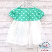 Sibia Palace Polka Dot Summer Dress Back