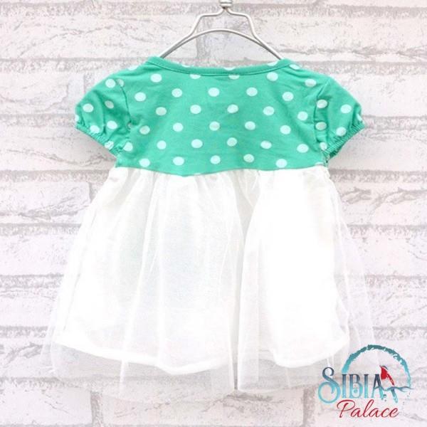 Green Polka Dot Summer Dress