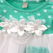 Sibia Palace Polka Dot Summer Dress Flower