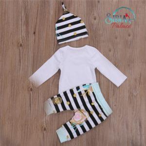 Baby Girl Cute White T-shirt