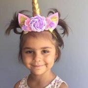 Pastel Unicorn Sibia Palace Birthday Set Year One Unicorn Horn Headband