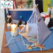 Sibia Palace DIY Activity Toy Little Sailor Boy Room Closeup