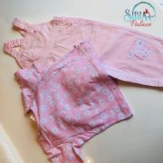Sibia Palace Girl Summer Pink Romper Set 2 pcs