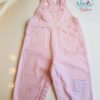 Sibia Palace Girl Summer Pink Romper Set Front