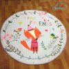 Sibia Palace My Friend Fox Baby Kids Round Play Mat