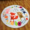 Sibia Palace So Much Fun Baby Kids Round Play mat STOCK image
