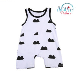 Infant Sleeveless Romper Jumpsuit