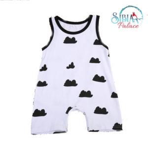 Infant Sleeveless Romper Jumpsuit
