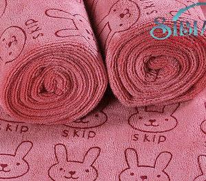 Cute Pink Bath Baby Towel
