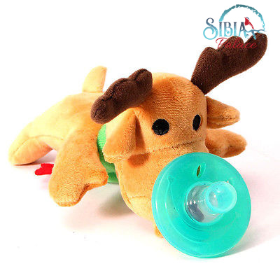 silicone chain animal pacifier