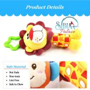 Sibia Palace Roaring Lion Rocking Baby Rattle3