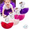 Sibia Palace Red Wreath One Baby Girl 1st Birthday Dress Outfit 3Pcs Set Colours Variety