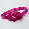 Sibia Palace Baby Girl 1st Birthday Princess Rose Pink Glitter Outfit Dress Headband