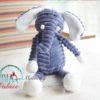 Sibia Palace Baby Soft Plush Blue Elephant