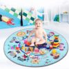 Sibia Palace Lets Play Friendly Animals Tummy Time Play Mat