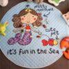 Sibia Palace Pretty Mermaid Baby Tummy Time  Mats Kids Play Rugs Cute
