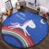 Sibia Palace Night Rider Unicorn Baby Tummy Time Mat Kids Play Rug