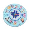 Sibia Palace Lets Play Friendly Animals Tummy Time Play Mats Blue
