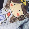 Sibia Palace Pretty Mermaid Baby Tummy Time  Mats Kids Play Rug Closeup