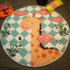 Sibia Palace Smiling Friendly Giraffe Baby Tummy Time Play Mat