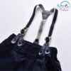 Sibia Palace Baby Boy Formal European 4 Piece Set Jeans Suspenders