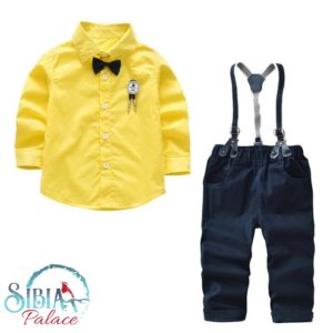 b4156a1b01a8 Sibia Palace Gentleman Baby Boy Red 4 Piece Outfit Set