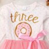 Sibia Palace Baby Girl 3rd Birthday Dress Set Close up