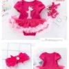 Sibia Palace Baby Girl Birthday Princess Is 1 Outfit Set 4 Piece