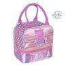 Peppa Pig Pink Lilac Toddler Kids Lunch Bag