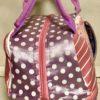 Peppa Pig Pink Lilac Toddler Kids Lunch Bag Close