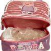 Peppa Pig Pink Lilac Toddler Kids Lunch Bag P