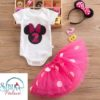 Sibia Palace Baby Girl 2nd Birthday Minnie Mouse Outfit Dress Sets