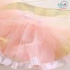 Sibia Palace Baby Girl Yellow Pink 1st Birthday Outfit 3 Piece Set Tutu