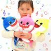 Sibia Palace Baby Shark Plush With Music & Light Mom Dad Baby ALL