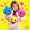 Sibia Palace Baby Shark Plush With Music & Light Mom Dad Baby ALL I Love