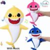 Sibia Palace Baby Shark Plush With Music & Light Mom Dad Baby ALL Shark