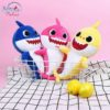 Sibia Palace Baby Shark Plush With Music & Light Mom Dad Baby ALL Shark Picnic