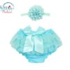 Sibia Palace Blue Bloomer Set
