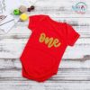 Sibia Palace Cakesmash ONE Year Romper Red