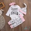 Sibia Palace Daddy's Little Chick Easter 4 Pcs Outfit
