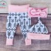 Sibia Palace Daddy's Little Chick Easter 4 Pcs Outfits Pant Hat Bow
