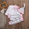 Sibia Palace Daddy's Little Chick Easter 4 Pcs Outfits Set Back