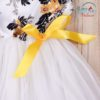 Sibia Palace Baby Girls Tulle Floral Print Tutu Princess Dress Outfit Bow Toddler