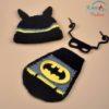 Sibia Palace Super Hero Baby Photo Shoot Costume Batman 3 Piece Set Cute Bat Baby