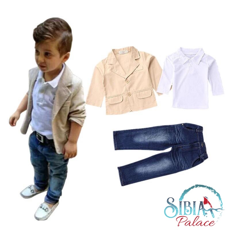 Baby Boy 1st Birthday Outfit.Sibia Palace Baby Boy Dressed To Impress 1st Birthday Outfit 3 Piece Set