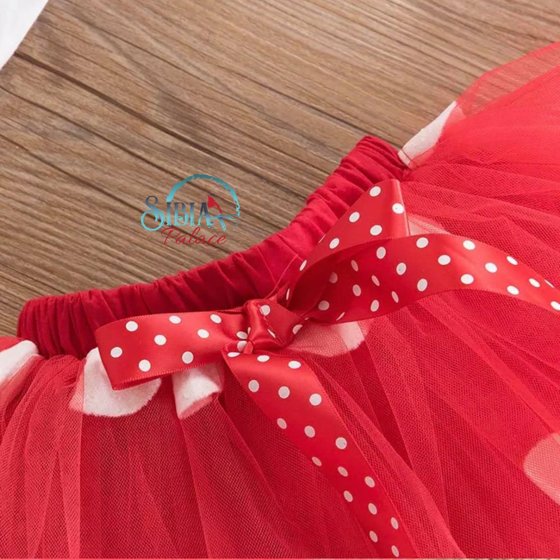 MINNIE MOUSE **With NAME** 3rd third 3 Birthday red Tutu dress Fast Shipping