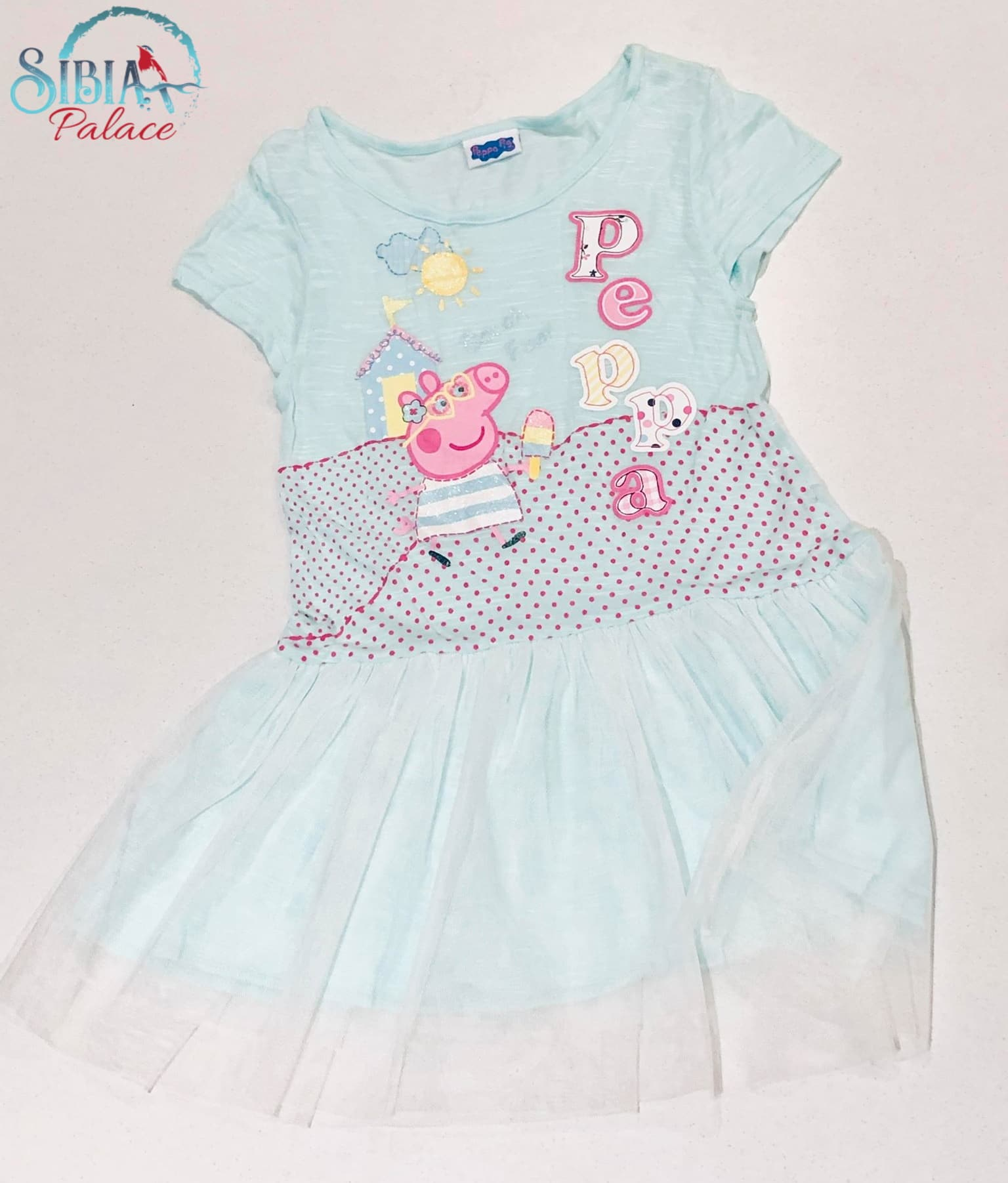 Peppa Pig Girl/'s Peppa and George Pants Set Ages 2-3 Years New Outfit
